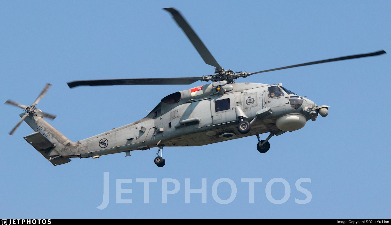 266 - Sikorsky S-70B Seahawk - Singapore - Air Force