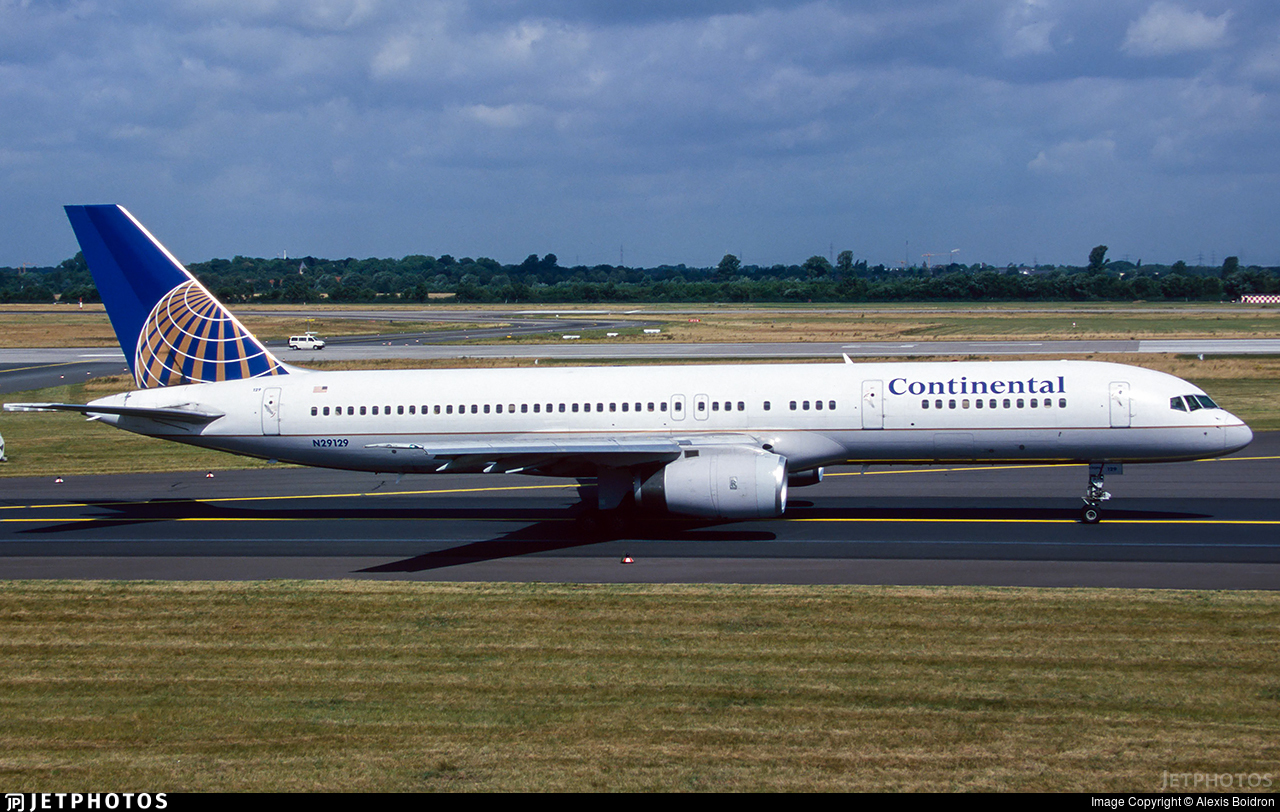 N29129 - Boeing 757-224 - Continental Airlines