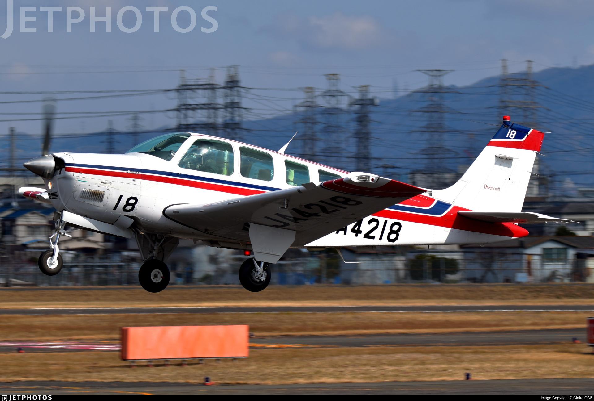 JA4218 - Beechcraft A36 Bonanza - SGC Saga Aviation