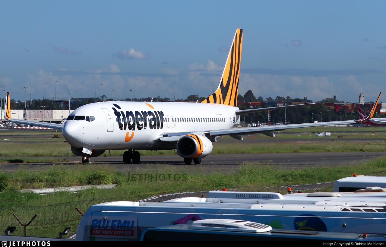 VH-VUX - Boeing 737-8FE - Tigerair Australia