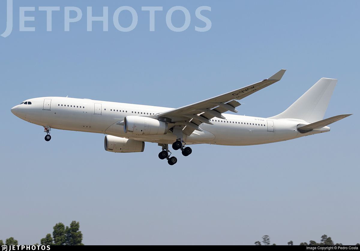 G-VYGK - Airbus A330-243 - Air Tanker