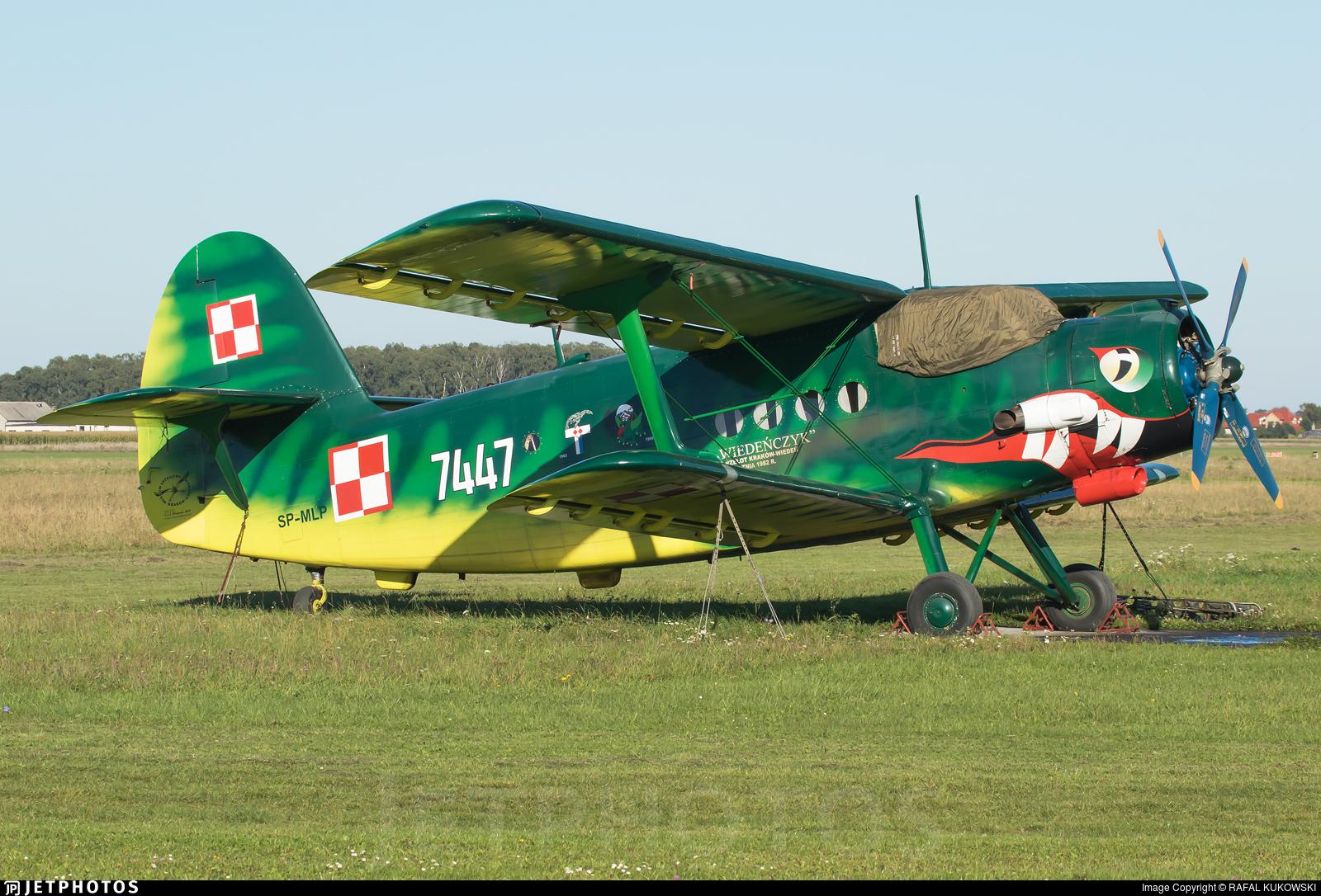 SP-MLP - PZL-Mielec An-2 - Private