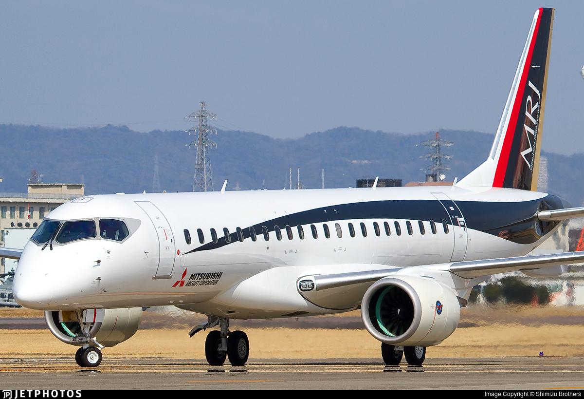 ja23mj | mitsubishi mrj90std | mitsubishi aircraft corporation