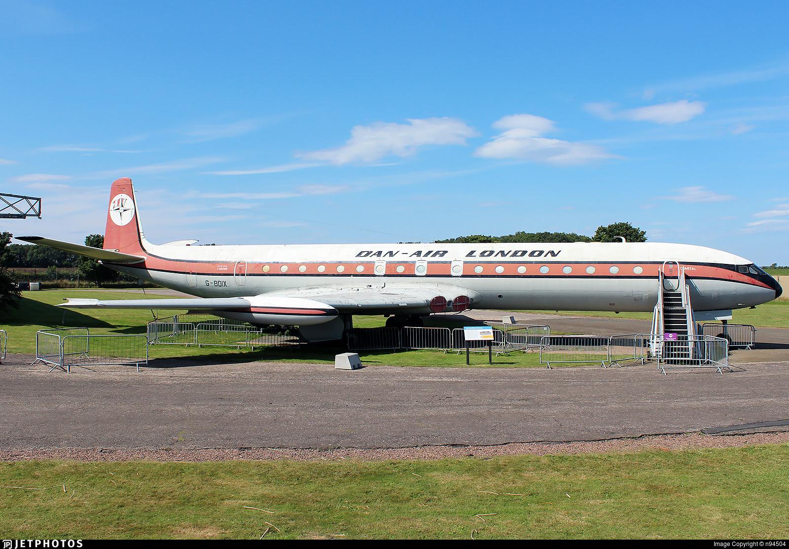 G-BDIX - De Havilland DH-106 Comet 4C - Dan-Air London