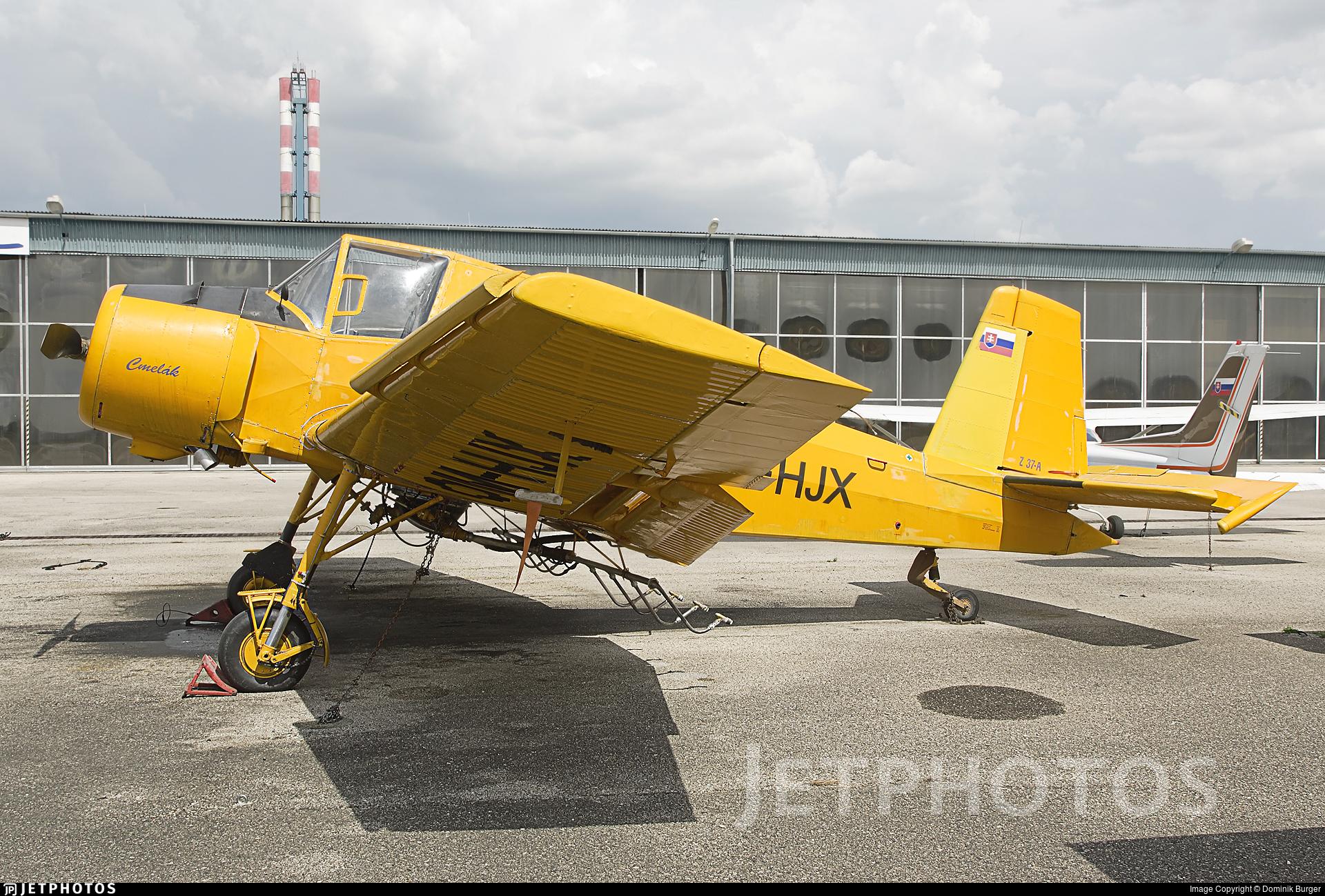 OM-HJX - Zlin Z-37A Cmelák - Aero Slovakia