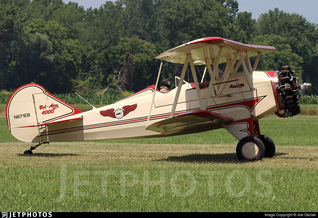 N671EB - Bel-Aire BA-4000 - Private