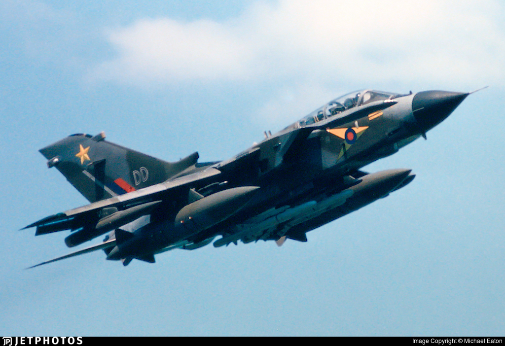 ZG792 - Panavia Tornado GR.4 - United Kingdom - Royal Air Force (RAF)