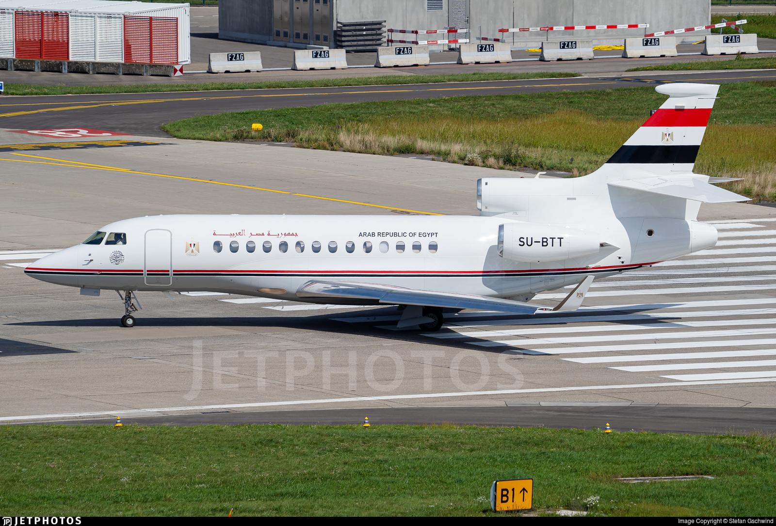 SU-BTT - Dassault Falcon 7X - Egypt - Government