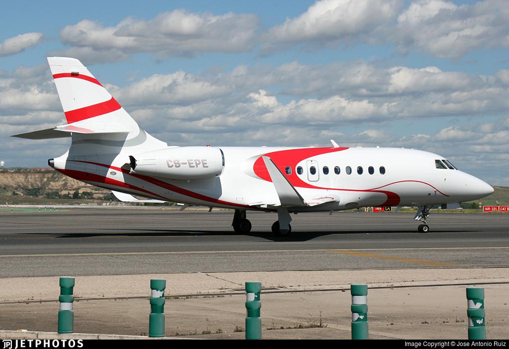 CS-EPE - Dassault Falcon 2000LX - Private