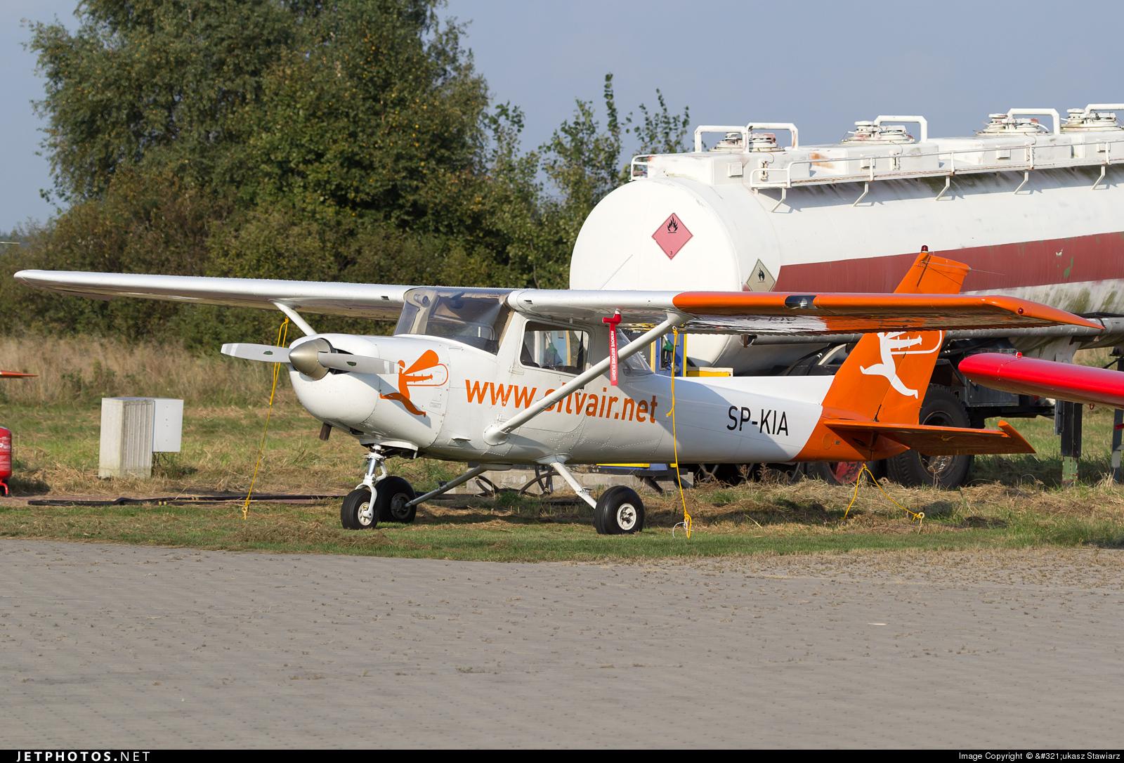 SP-KIA - Reims-Cessna F152 II - Silvair