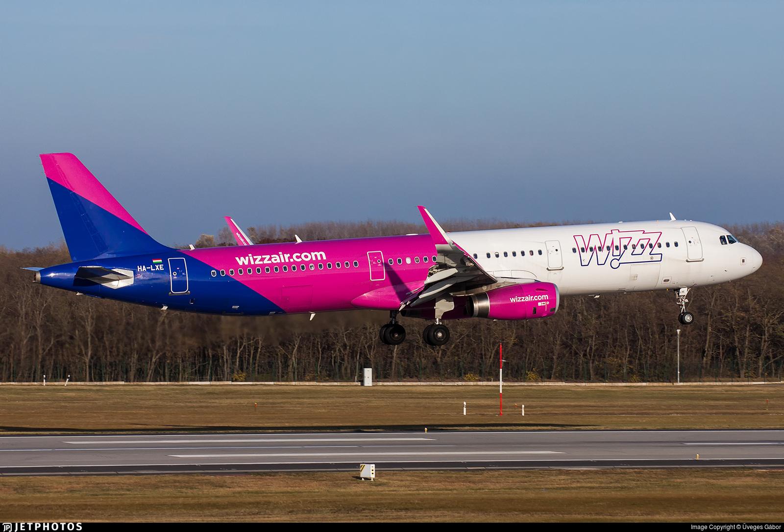HA-LXE - Airbus A321-231 - Wizz Air