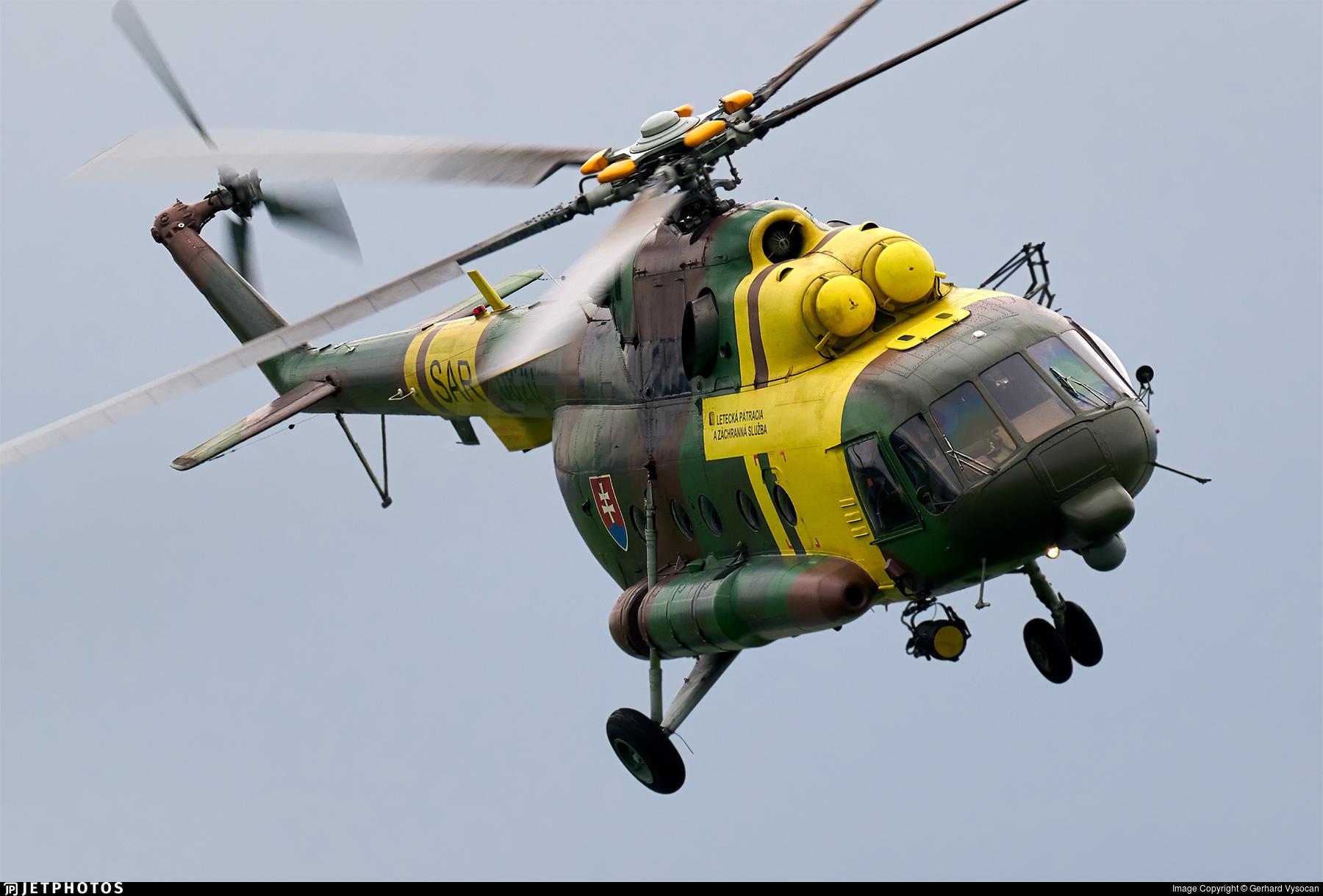 0820 - Mil Mi-17 Hip - Slovakia - Air Force