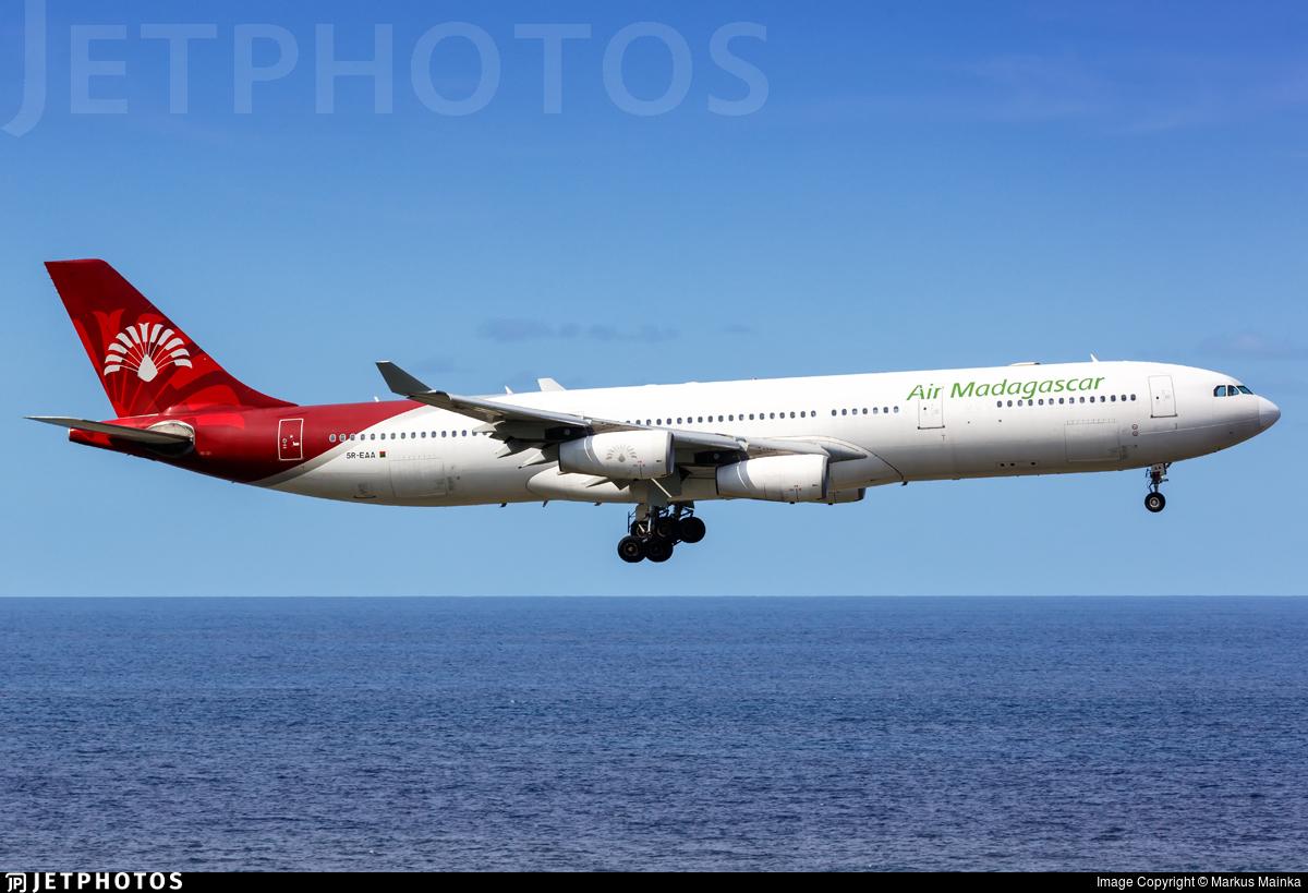 5R-EAA - Airbus A340-313X - Air Madagascar