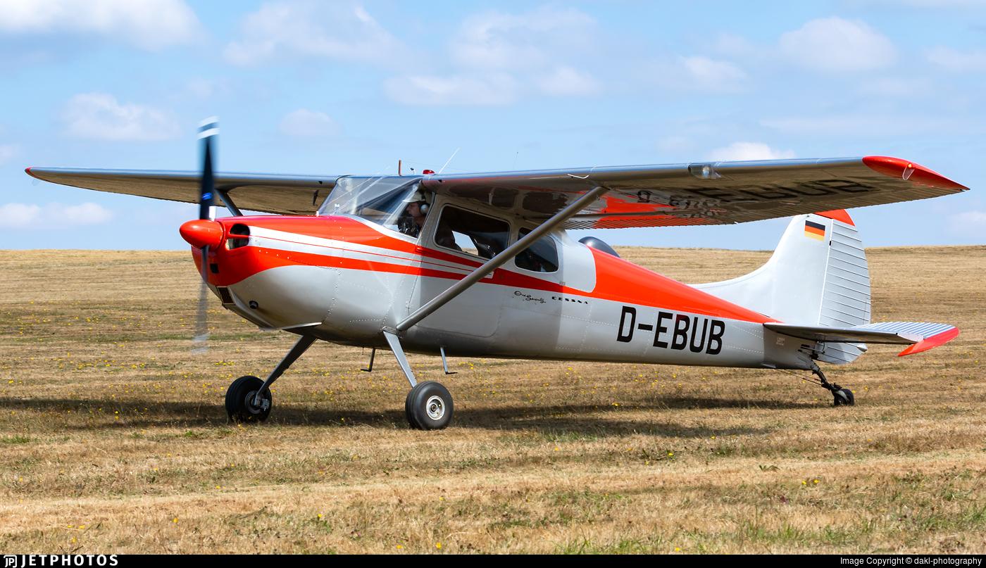 D-EBUB - Cessna 170B - Private