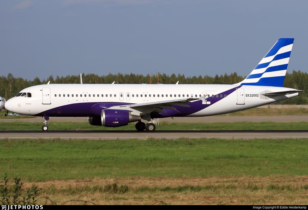 EK32002 - Airbus A320-211 - Atlantis European Airways
