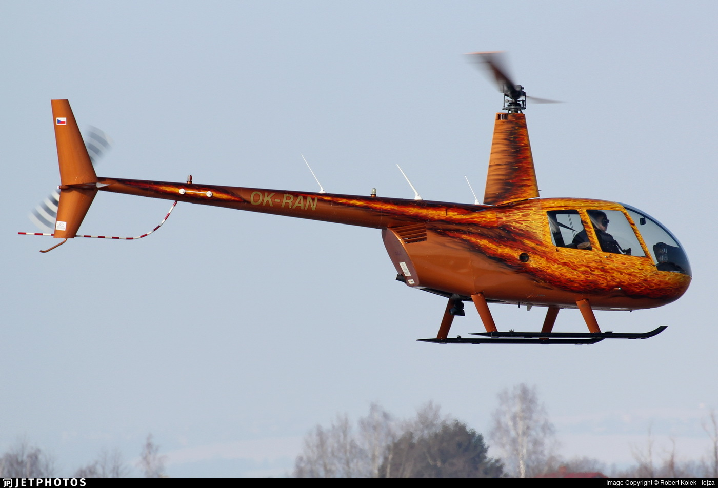 OK-RAN - Robinson R44 Raven II - Private
