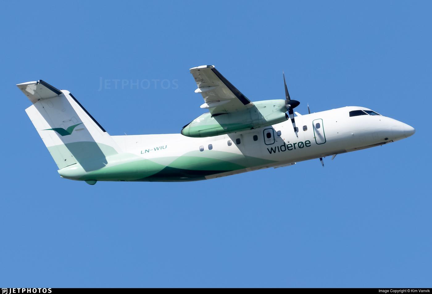 LN-WIU - Bombardier Dash 8-103 - Widerøe