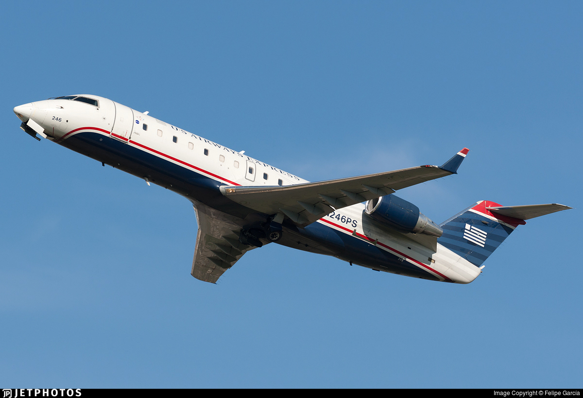 N246PS - Bombardier CRJ-200LR - US Airways Express (PSA Airlines)