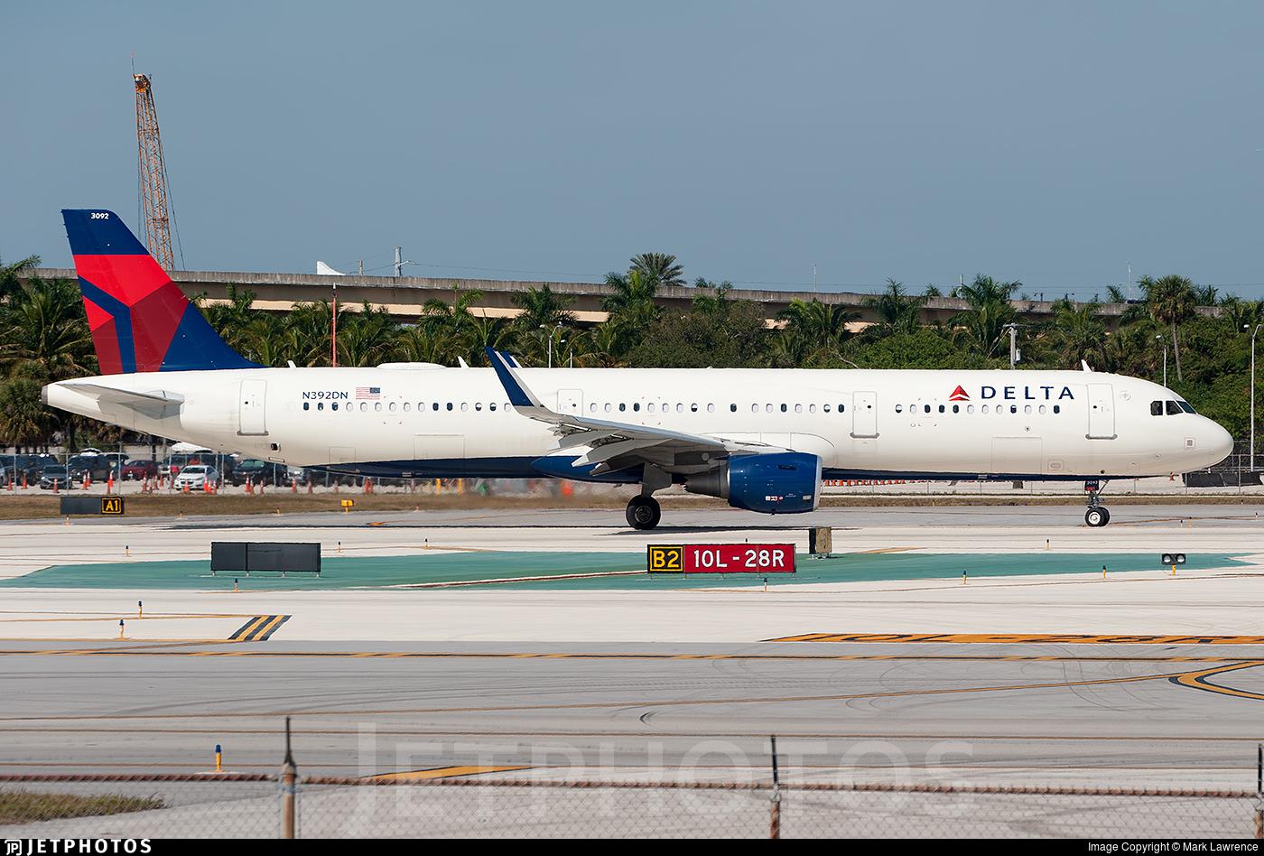 N392DN - Airbus A321-211 - Delta Air Lines