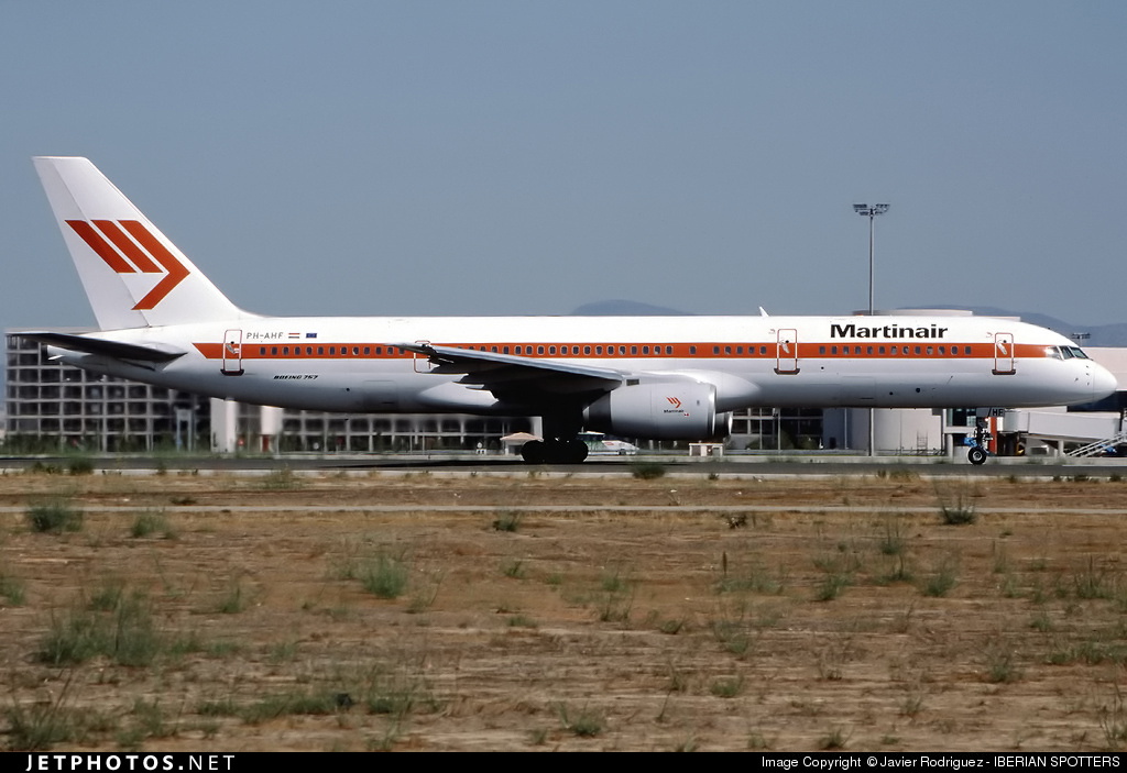 PH-AHF - Boeing 757-27B - Air Holland