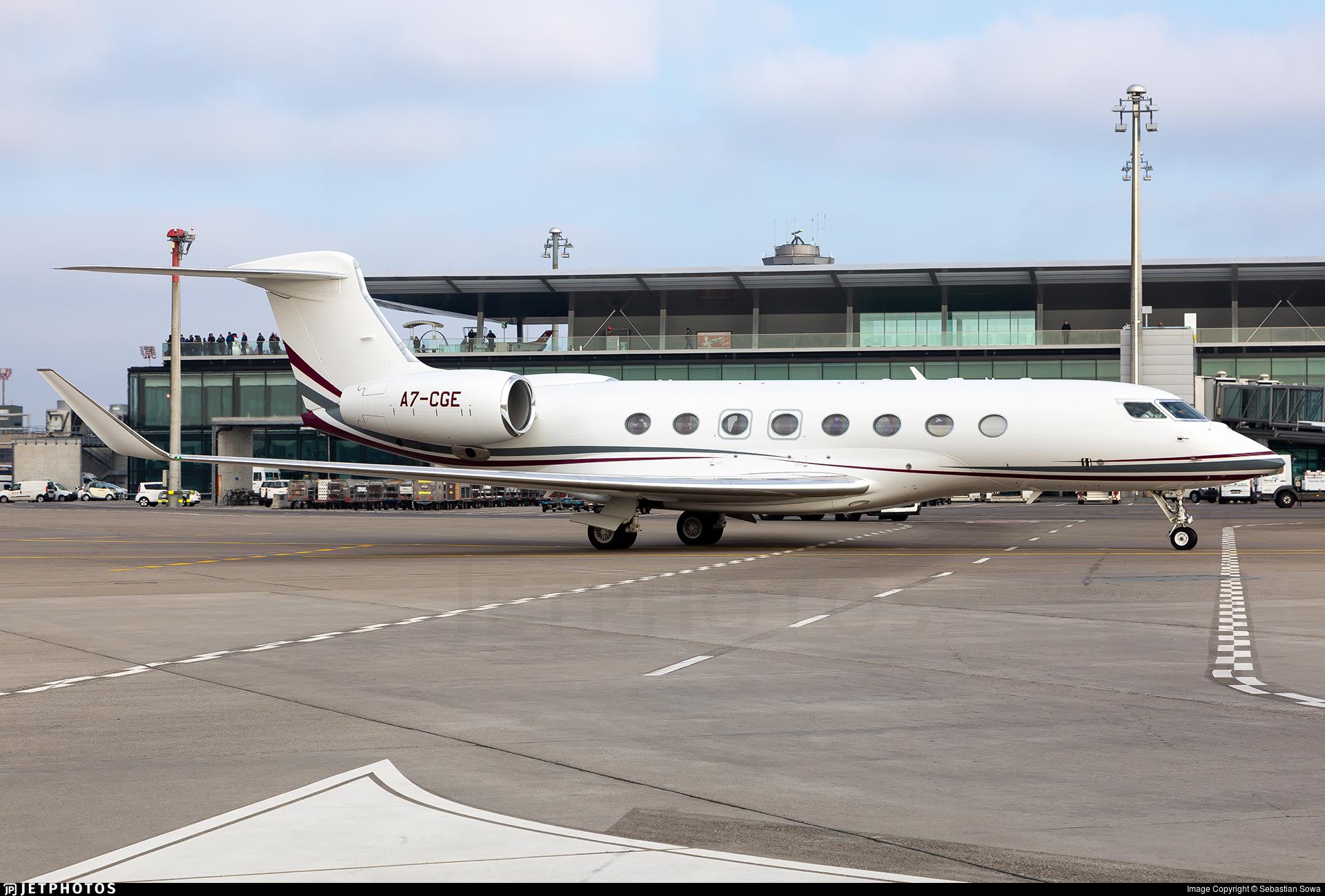 A7-CGE - Gulfstream G650ER - Qatar Executive