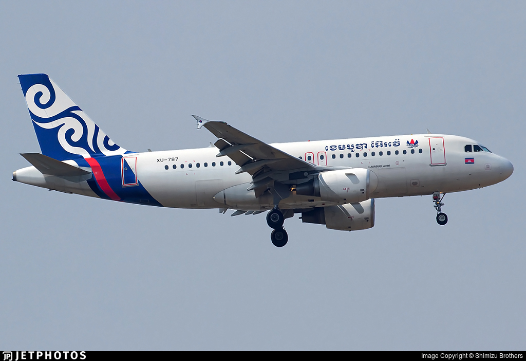 XU-787 - Airbus A319-112 - Cambodia Airlines