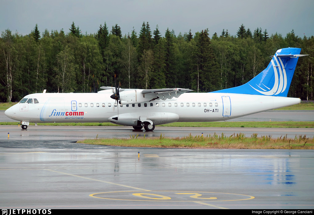OH-ATI - ATR 72-212A(500) - Finncomm Airlines