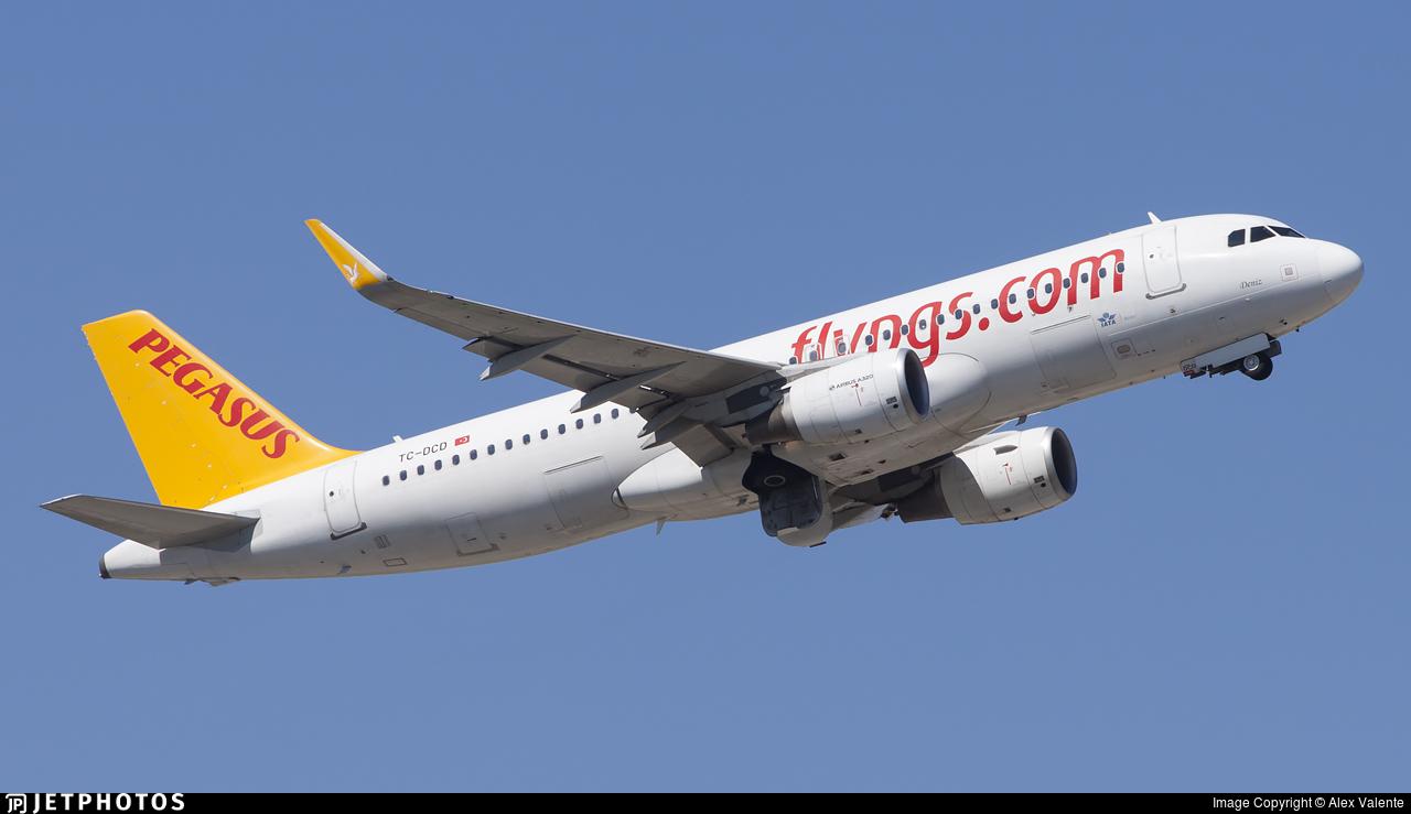 TC-DCD - Airbus A320-214 - Pegasus Airlines