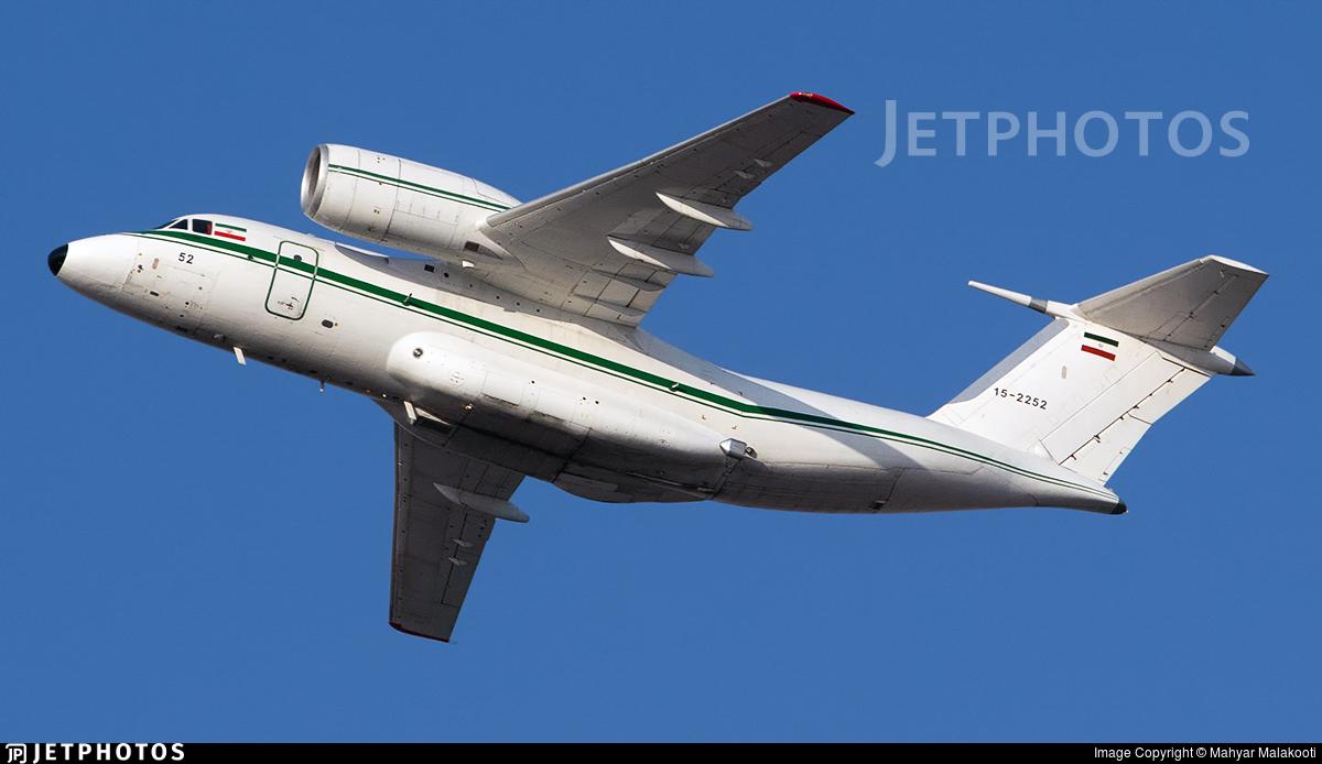 15-2252 - Antonov An-74-200 - Iran - Revolutionary Guard