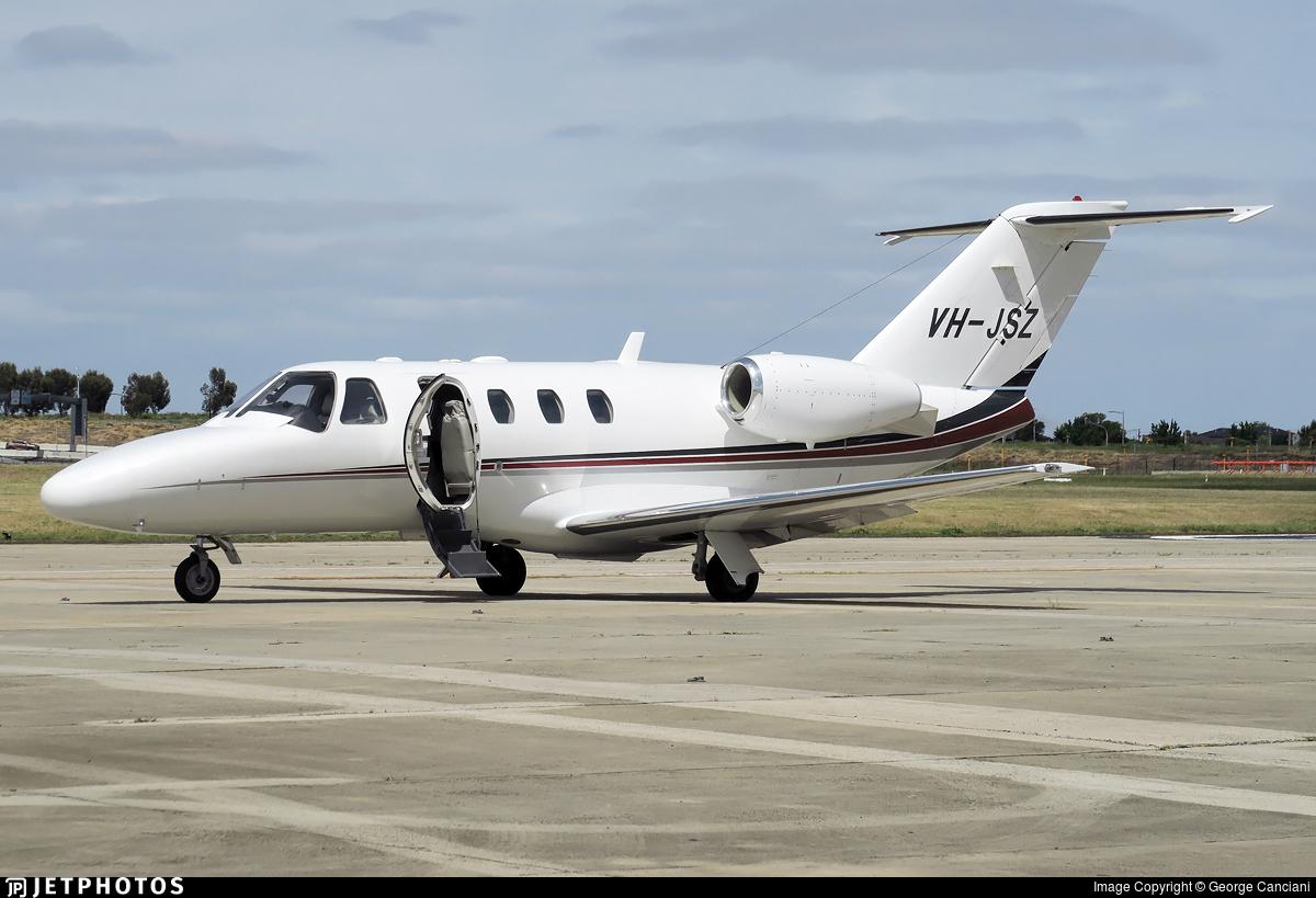 VH-JSZ - Cessna 525 Citationjet CJ1 - Private