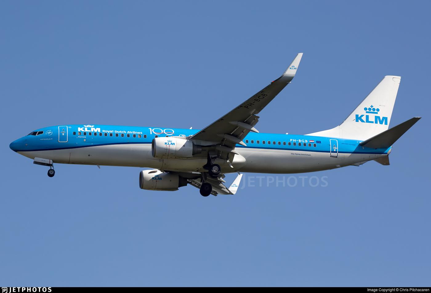 PH-BGB - Boeing 737-8K2 - KLM Royal Dutch Airlines