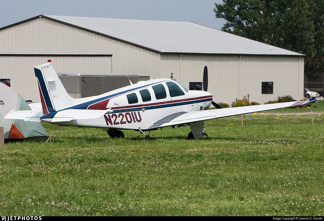 N2201U - Beechcraft B36TC Bonanza - Private