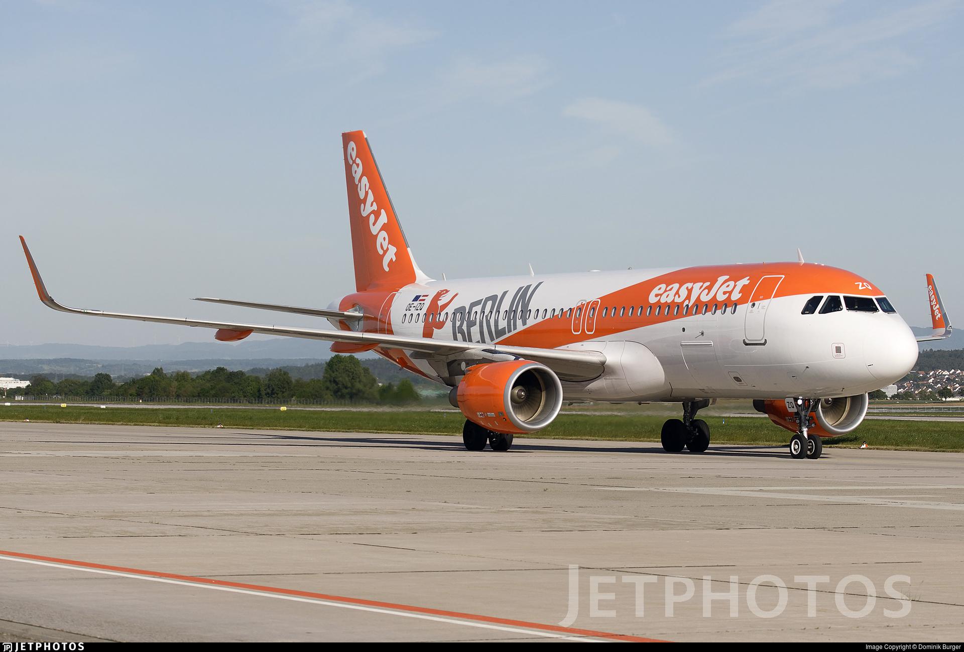 OE-IZQ - Airbus A320-214 - easyJet Europe