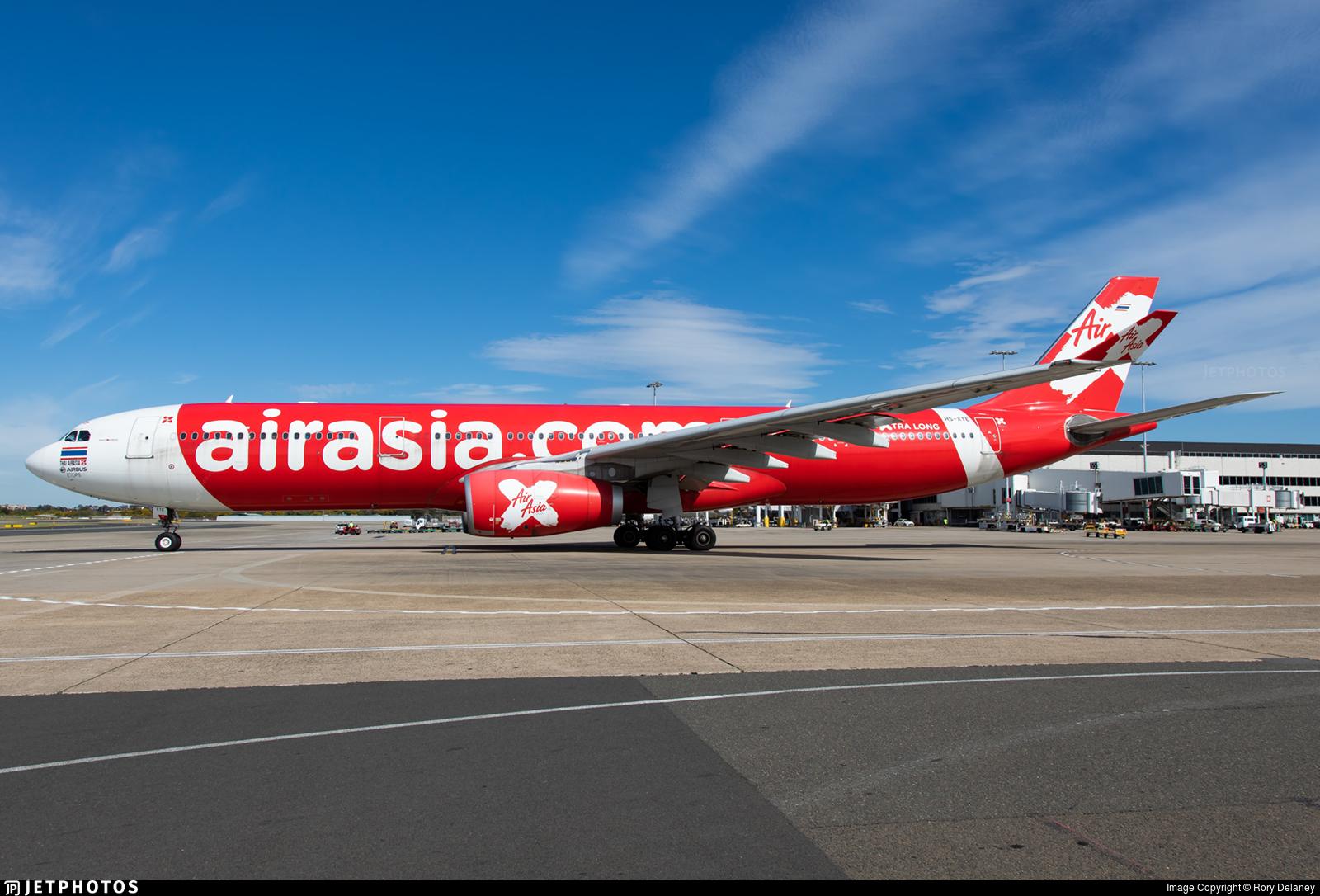HS-XTE - Airbus A330-343 - Thai AirAsia X