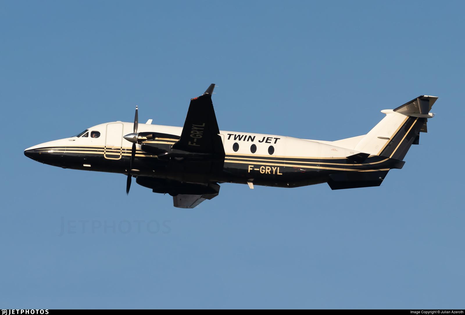 F-GRYL - Beech 1900D - Twin Jet