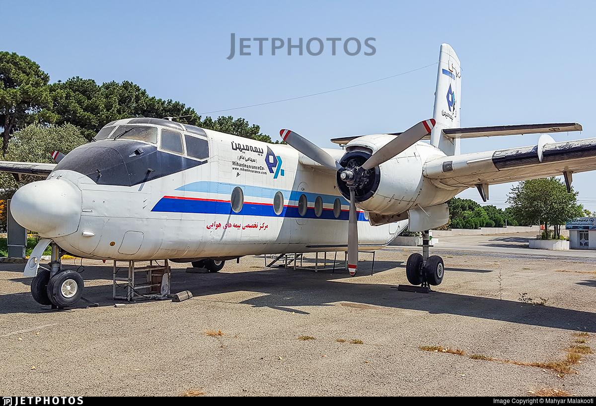 553 - De Havilland Canada DHC-4A Caribou - Iran - Air Force
