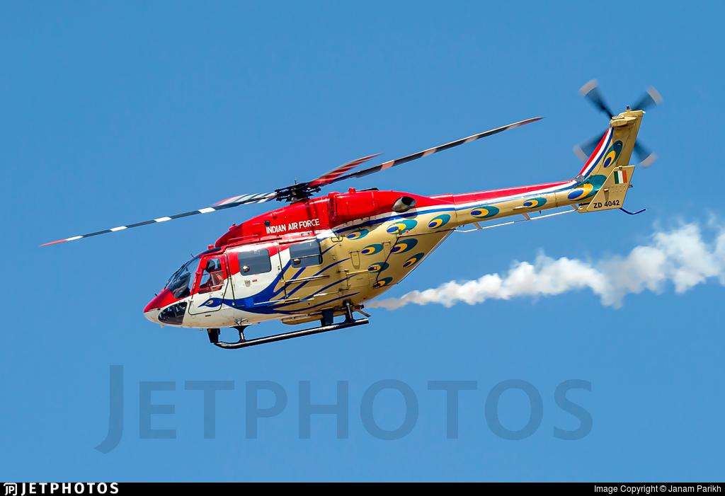 ZD4042 - Hindustan Aeronautics ALH Dhruv - India - Air Force