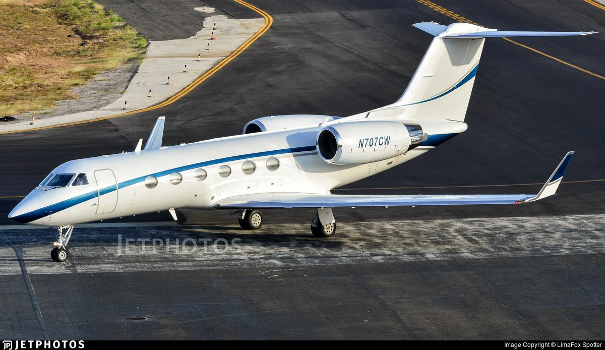 N707CW - Gulfstream G-IV - Private