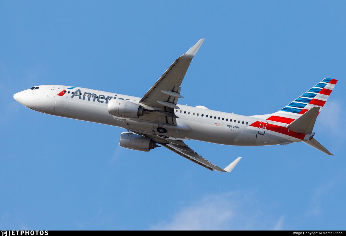 N954NN - Boeing 737-823 - American Airlines