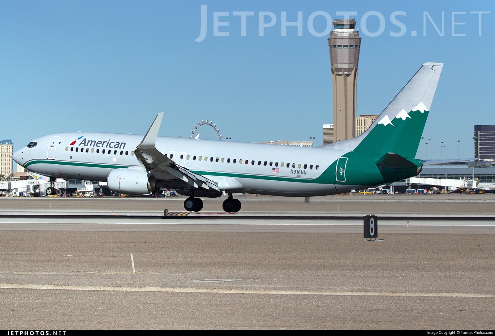 N916nn Boeing 737 823 American Airlines Tarmacphotos