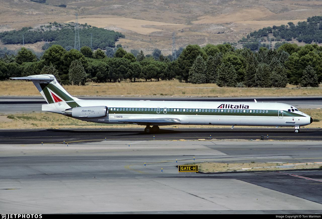 I-DATD - McDonnell Douglas MD-82 - Alitalia