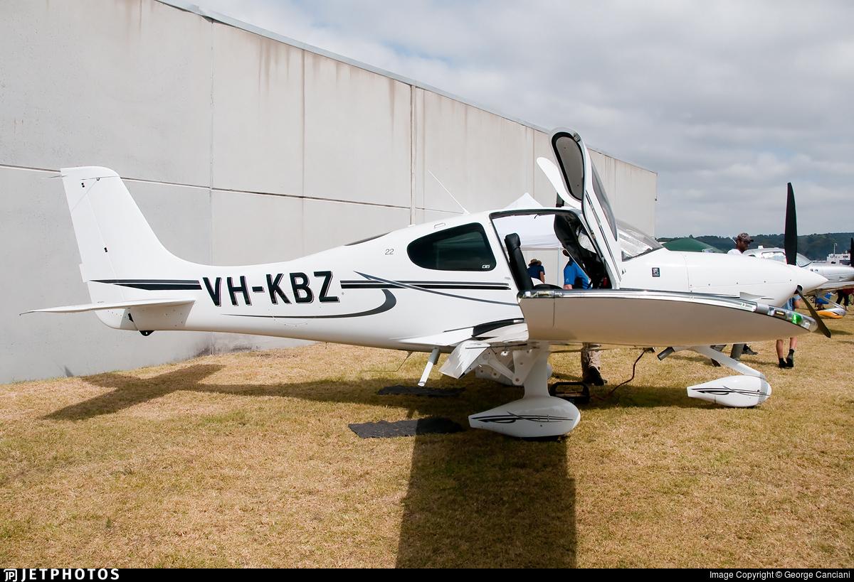 VH-KBZ - Cirrus SR22-G6 - Avia Aviation