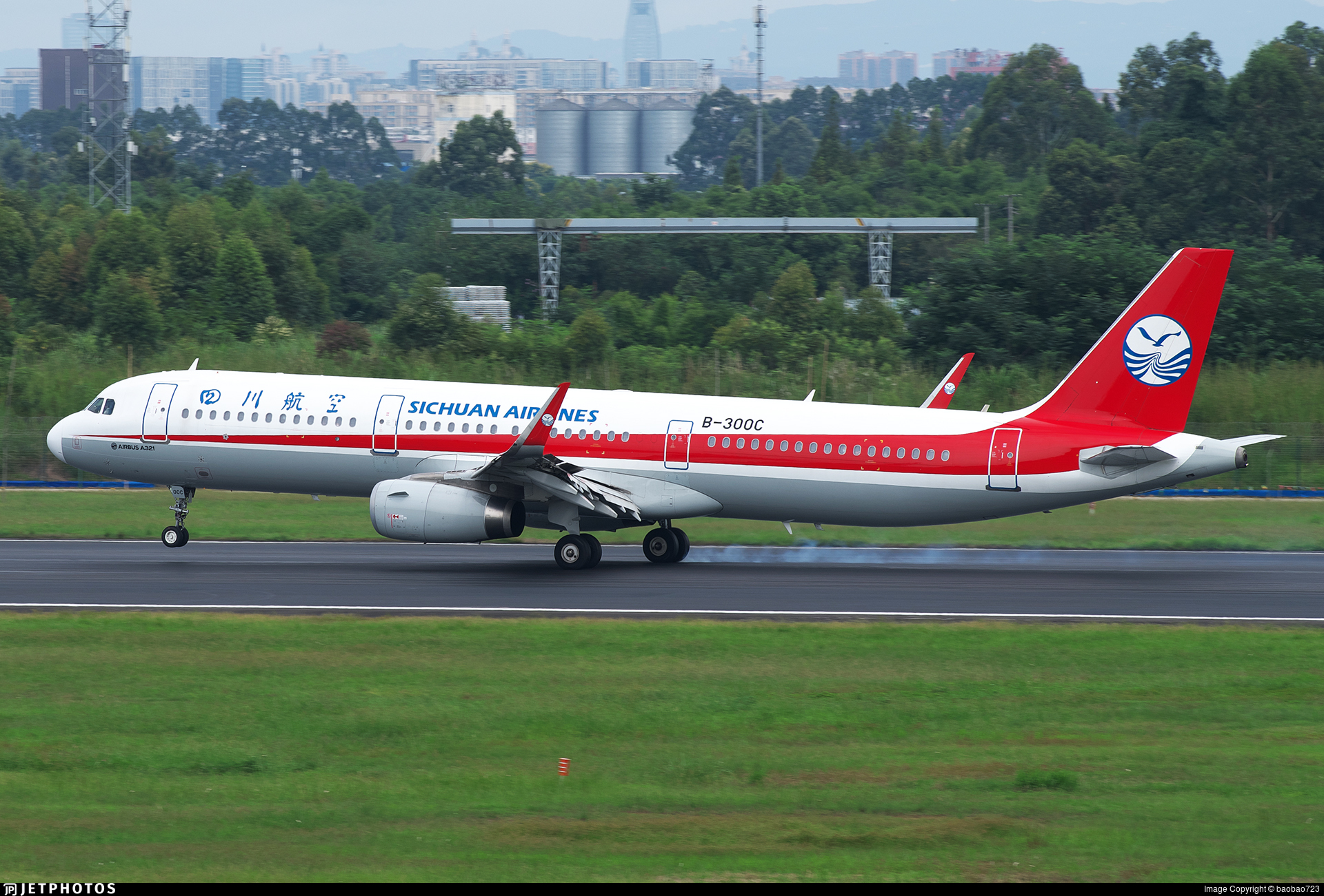 B-300C - Airbus A321-231 - Sichuan Airlines