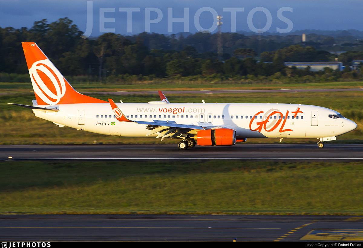 PR-GTG - Boeing 737-8EH - GOL Linhas Aereas