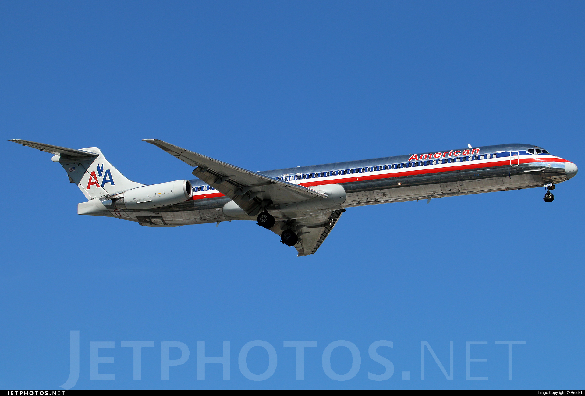 N493AA - McDonnell Douglas MD-82 - American Airlines