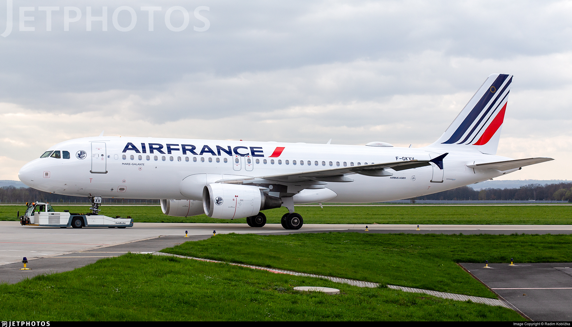 F-GKXV - Airbus A320-214 - Air France