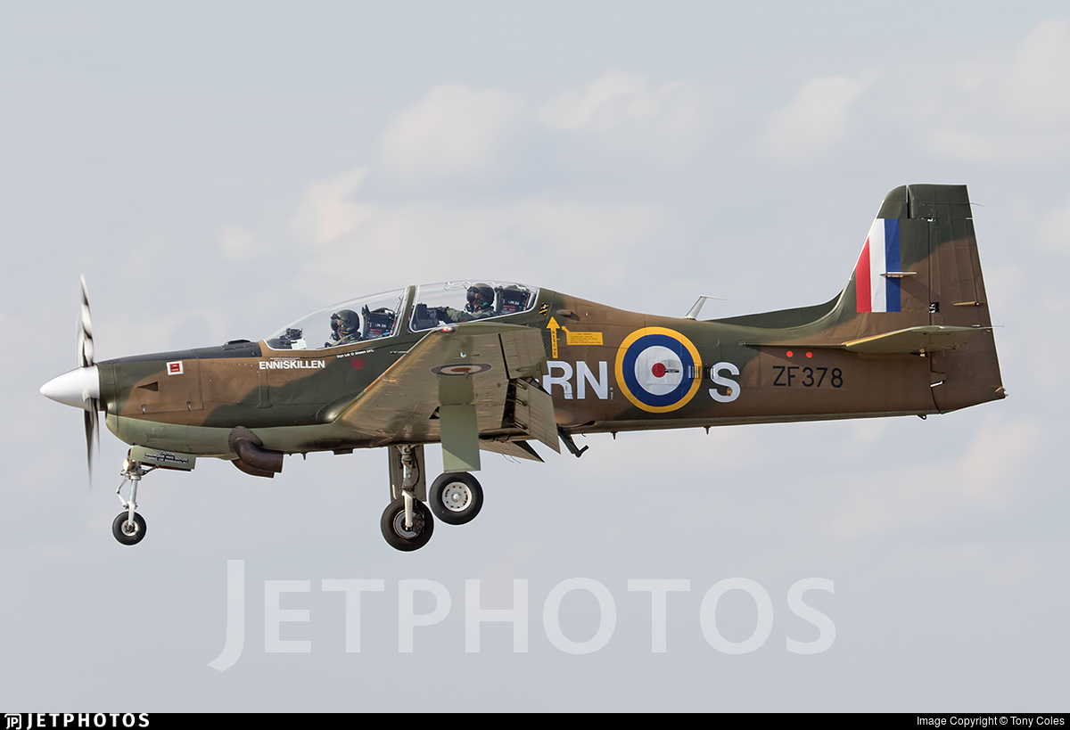 ZF378 - Short Tucano T.1 - United Kingdom - Royal Air Force (RAF)