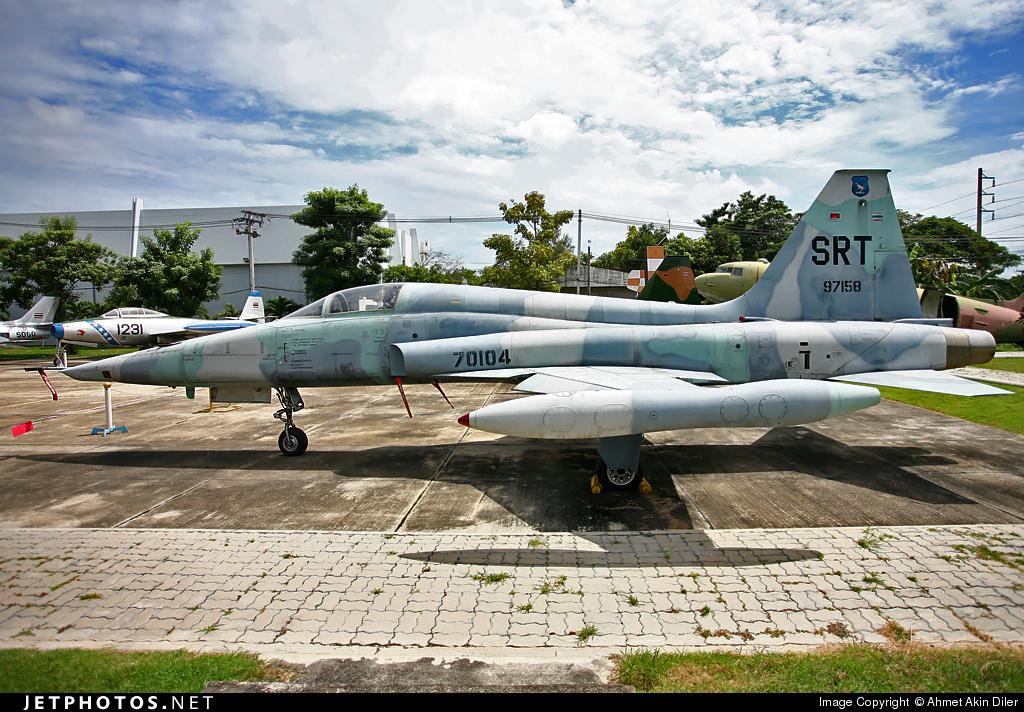 70104 - Northrop F-5A Freedom Fighter - Thailand - Royal Thai Air Force