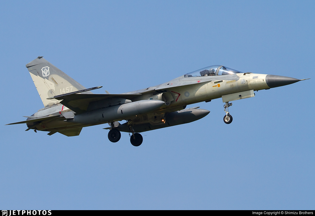 1457 - AIDC F-CK-1C Ching Kuo - Taiwan - Air Force