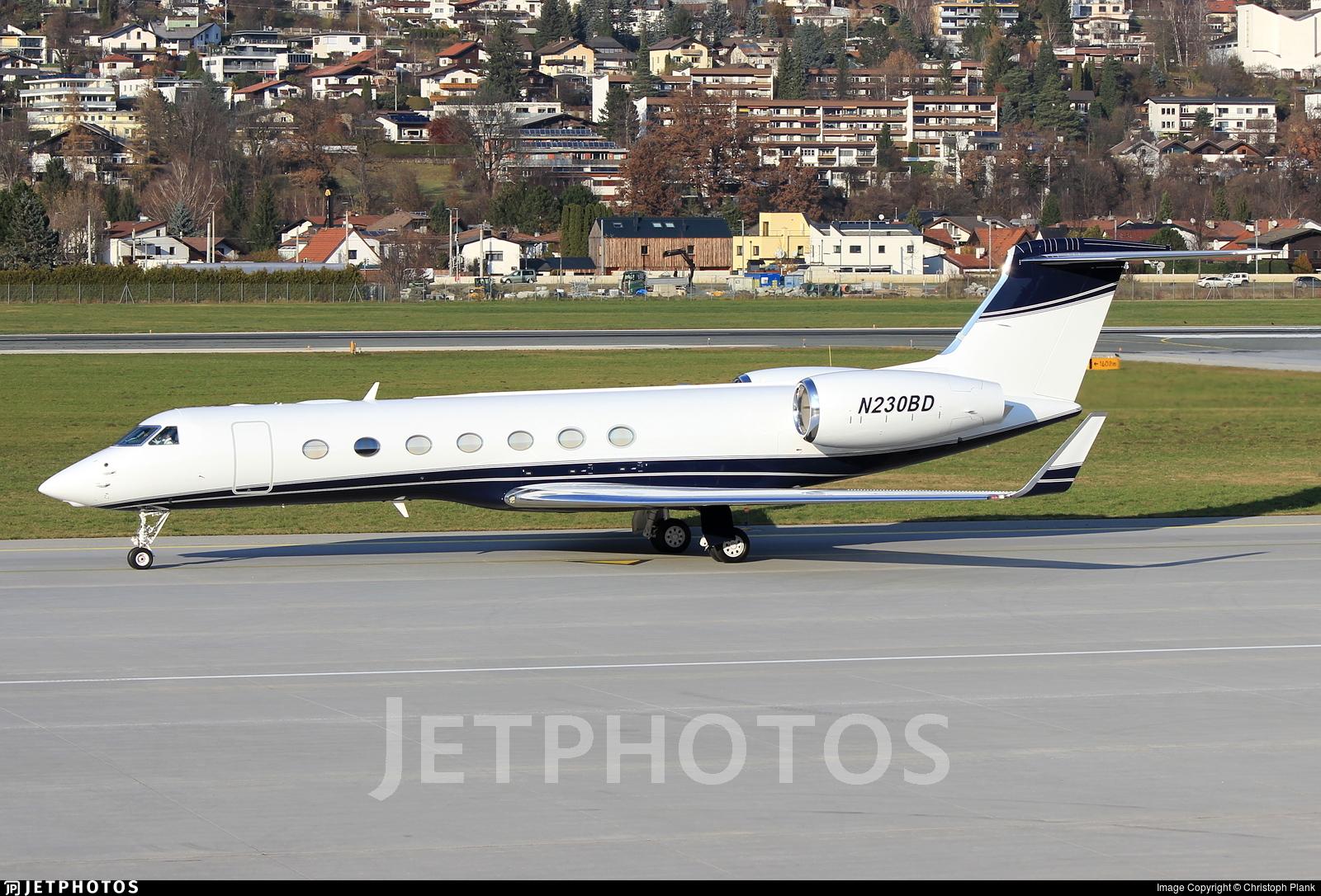 N230BD - Gulfstream G550 - Private